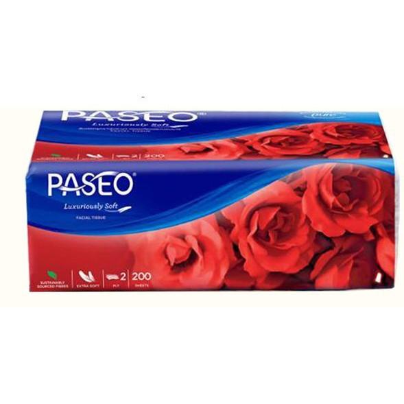 PASEO ทิชชู่Luxuriously Soft ขนาด200 แผ่น