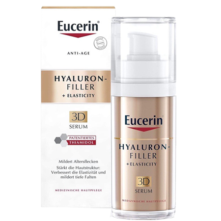 Eucerin Hyaluron Filler + Elasticity 3d Serum 30ml.