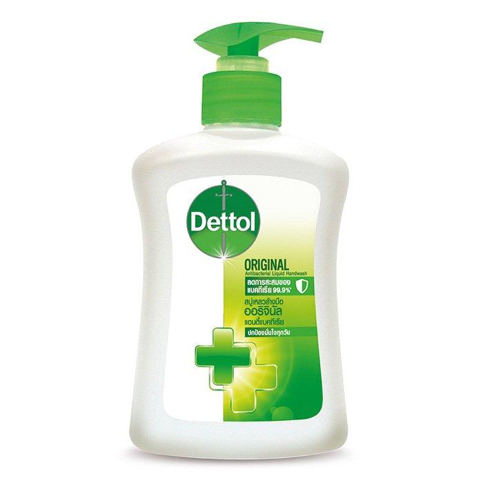 Dettol สบู่เหลวล้างมือ 225g.#ออริจินอล