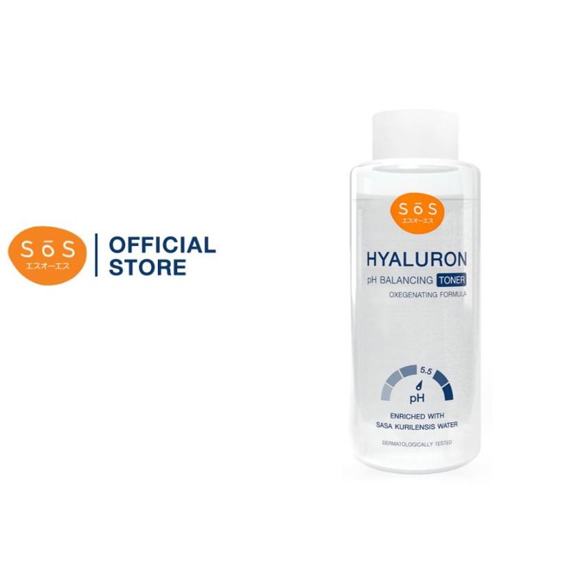 SOS Hyaluron pH Balancing Toner 50ml.
