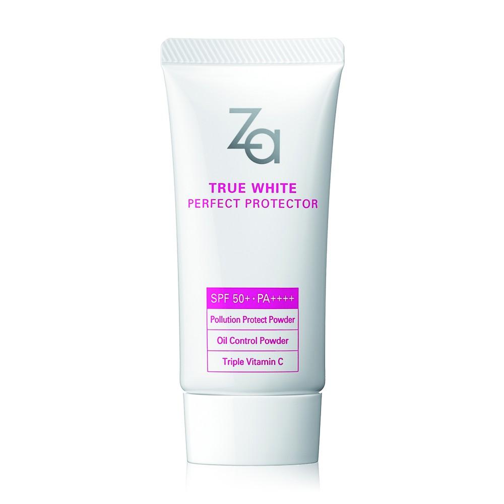 Za True White Perfect Protector SPF50+ PA++++ 30g.
