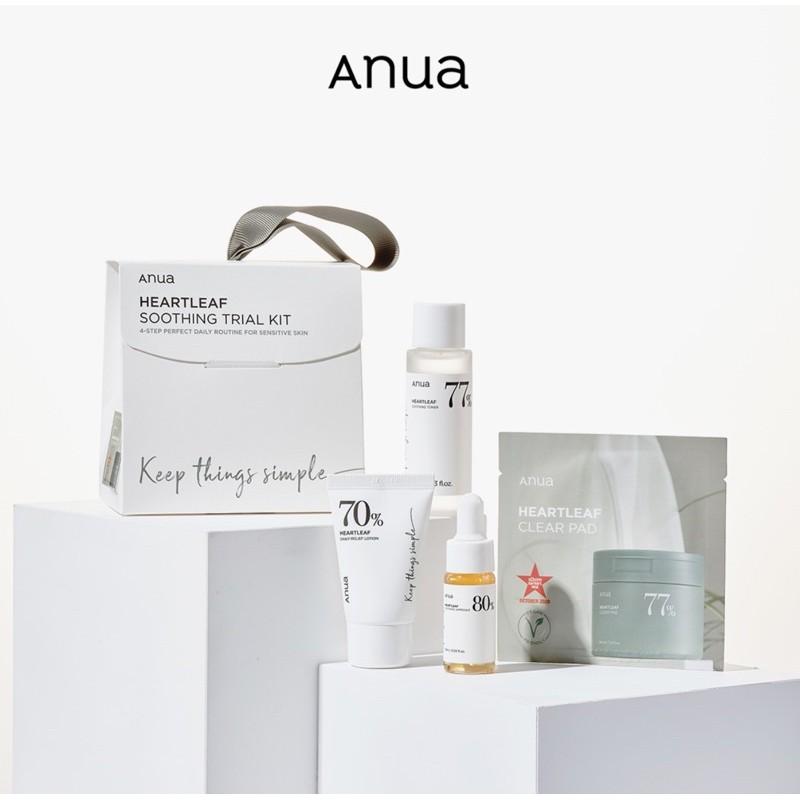 Anua soothing trial kit เซททดลอง