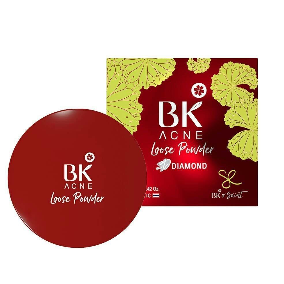 BK Acne Loose Powder 3D Diamond  12g.