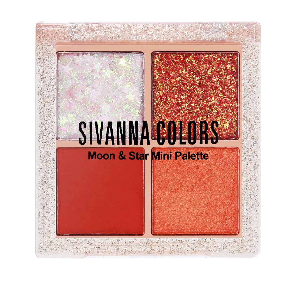 SIVANNA Moon & Star Mini Palette HF6040