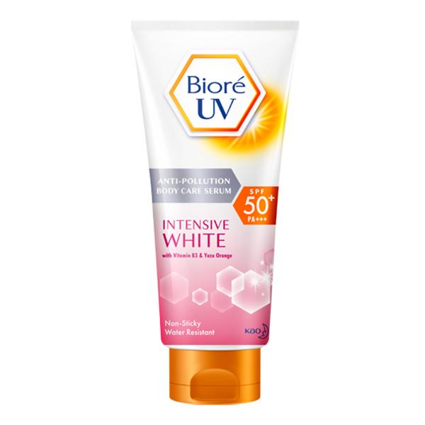 Biore UV Anti-Pollution Body Care Serum Intensive White (150ml)