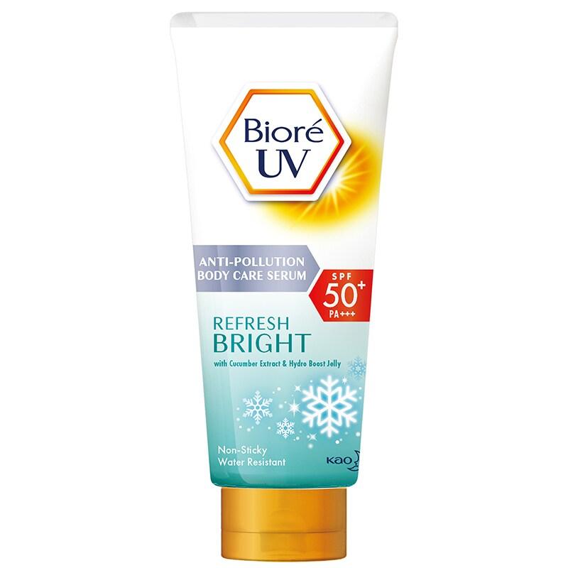Biore UV Anti-Pollution Body Care Serum Refresh Bright (150ml)