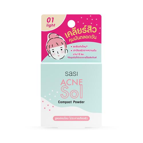 sasi Acne Sol Compact Powder
