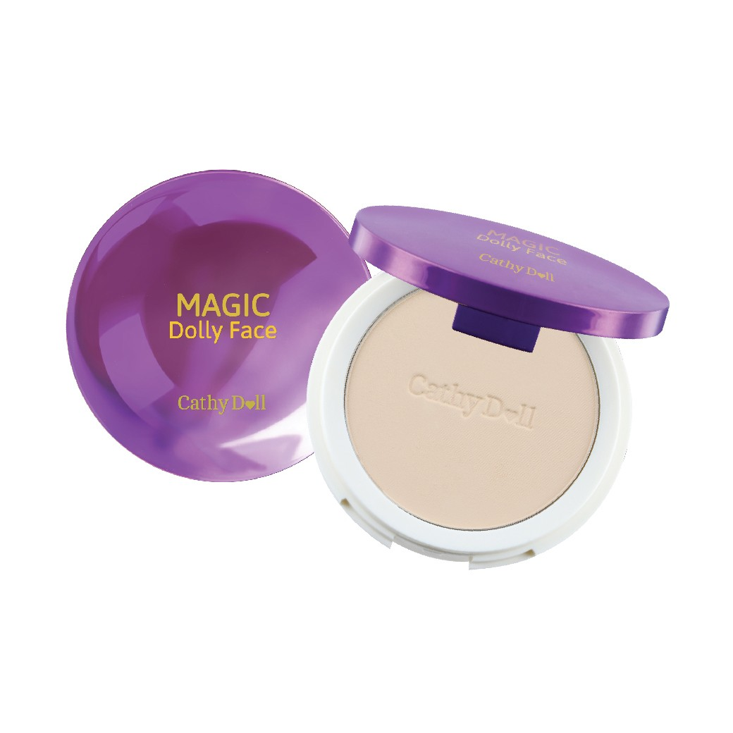 CATHY DOLL Magic Dolly Face Two Way Cake Powder SPF30 PA+++