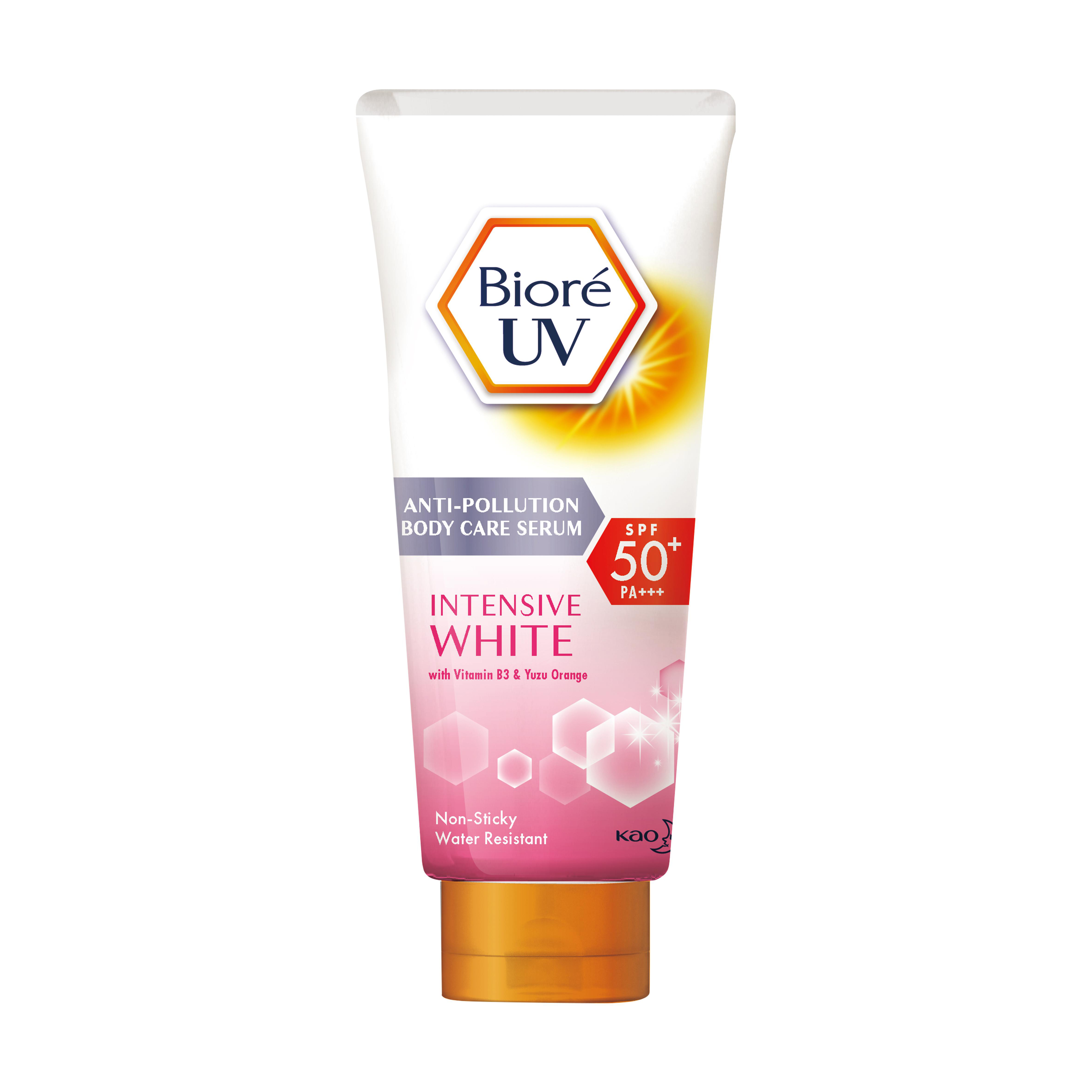 Biore UV Anti-Pollution Body Care Serum Intensive White (50ml)