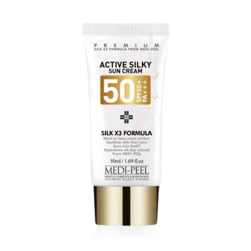 MEDI-PEEL Active Silky Sun Cream (50ml)
