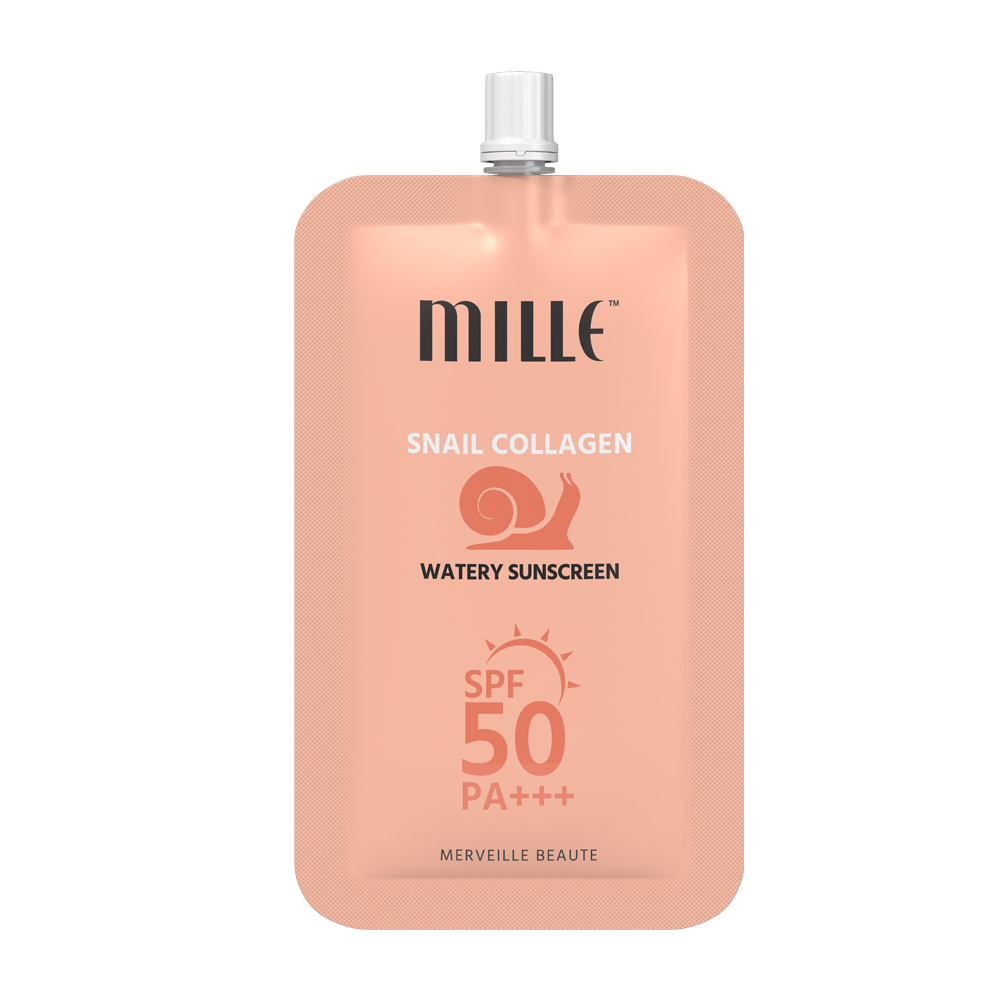 MILLE Snail Collagen Watery Sunscreen (ซอง 6g)