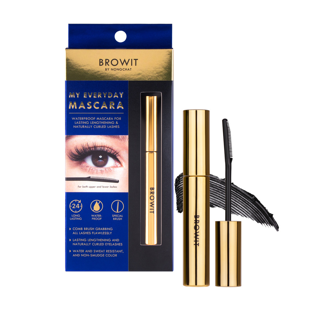 BROWIT BY NONGCHAT My Everyday Mascara #Endless Night (5.5g)