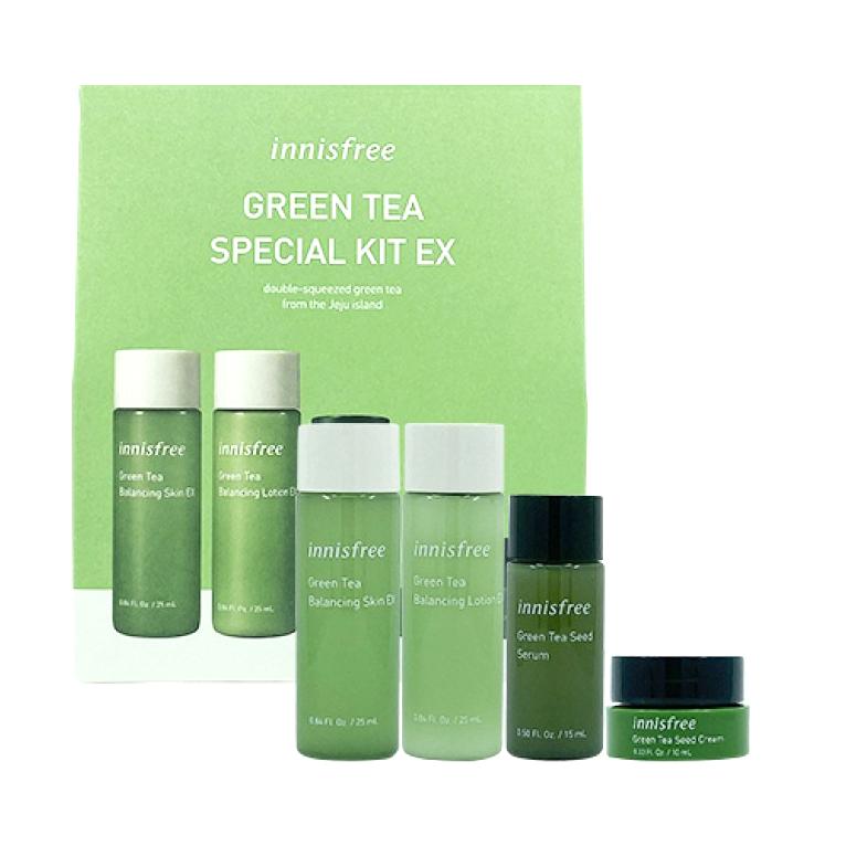 INNISFREE Green Tea Special Kit EX (4items)