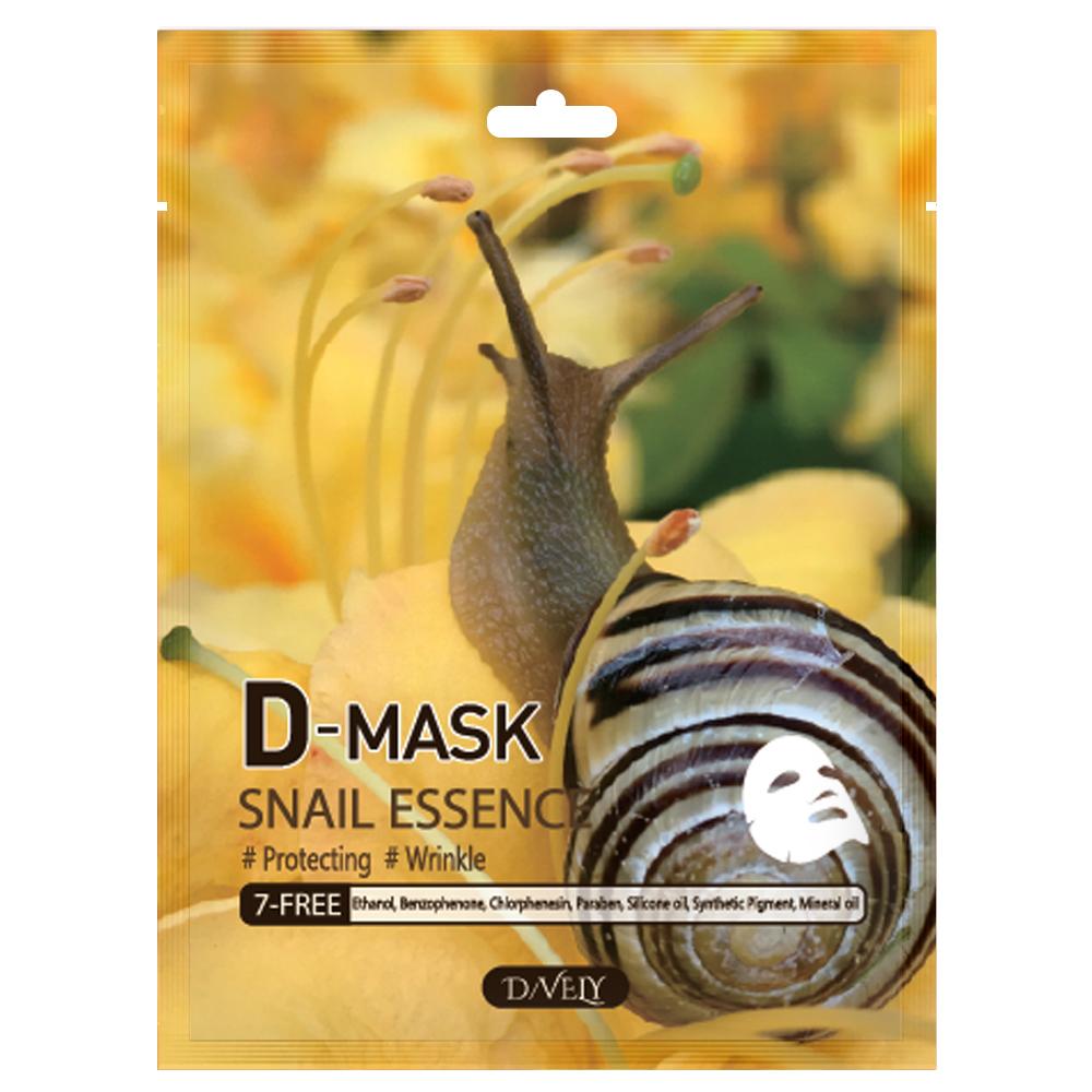 D-MASK Snail Essence ซอง (1 แถม 1 ราคา25 บาท)  *กรุณาเลือกสินค้าเป็นคู่*