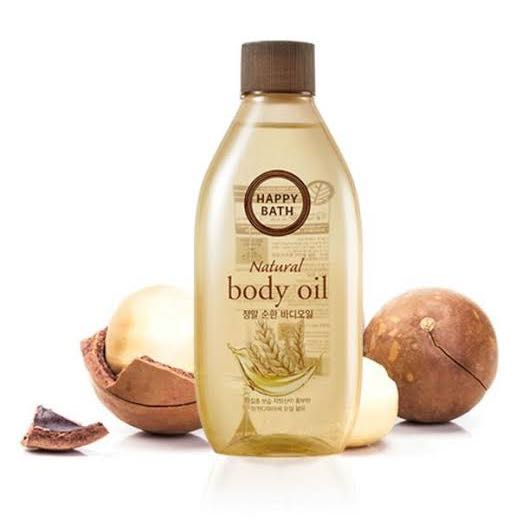 Happy Bath Body Oil milky powder