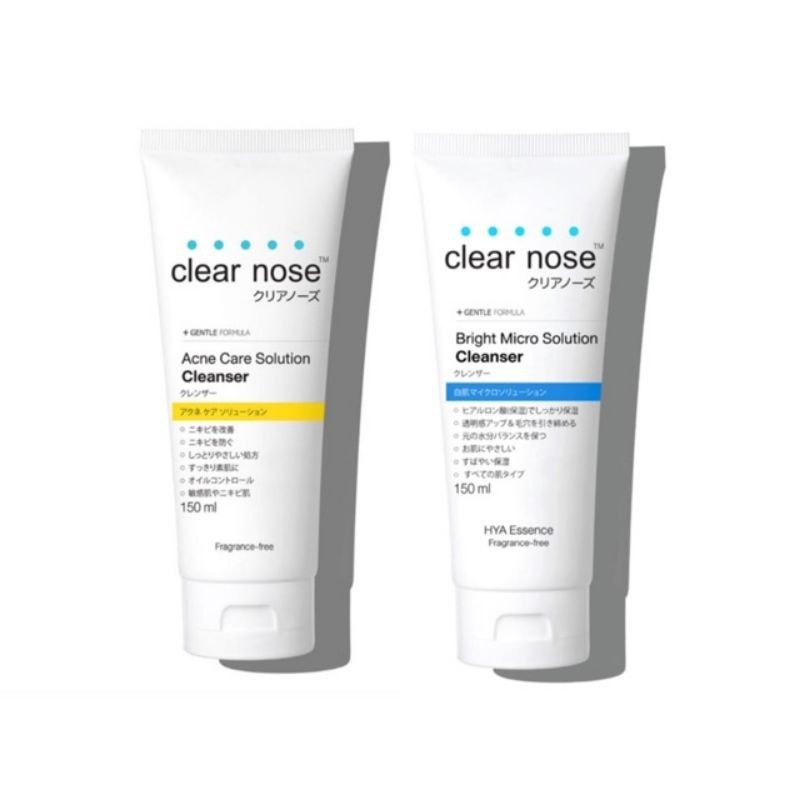 Clear nose Solution Cleanser 150ml.